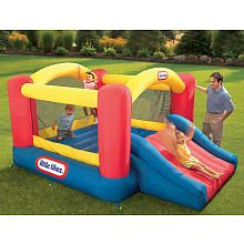 Little Tikes Jump 'n Slide Inflatable Bouncer...not now, but this is a good option for Ben's 2nd bday gift