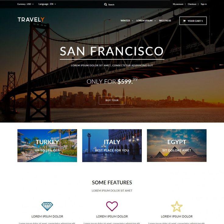 #Travel PrestaShop Theme #PrestaShop #templates #theme #Addons #Shop #Ecommerce #Prestapro