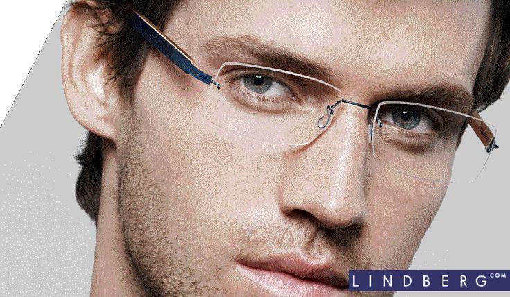 Gallery For > Mens Rimless Eyeglasses