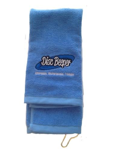Disc Golf Towel- Light Blue