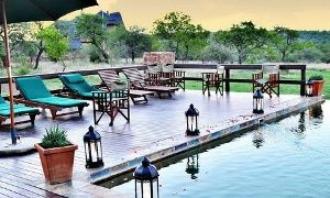 Groupon - Stay for Two, Gauteng: One-Night Stay, Including Breakfast, Full Body Massage and Game Drive at Mangwa Valley Game Lodge in Gauteng. Groupon deal price: R 1,399