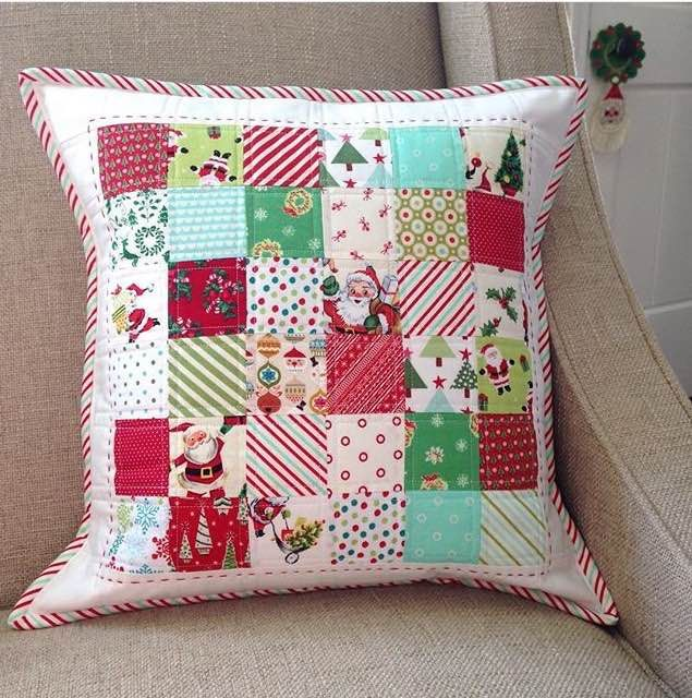 Quilted Throw Pillow Ideas: 108 best Sewing Tutorials   Pillows images on Pinterest   Cushions    ,