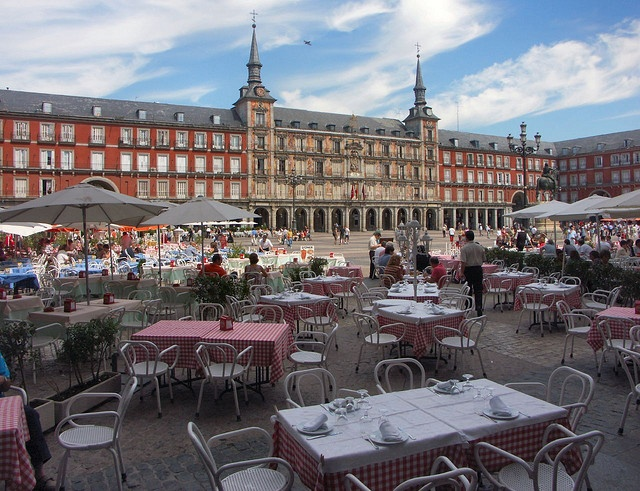 "Madrid Plaza Mayor Perfect spot to relax and have drink till Late , after a day of ""hardstudy"" !"