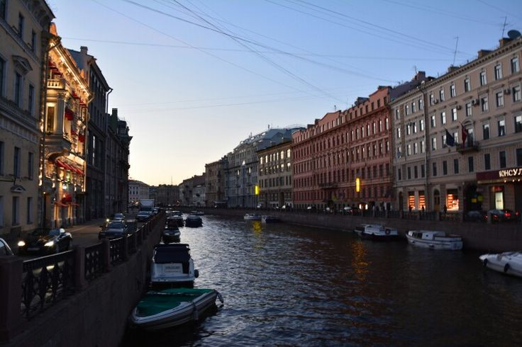 Evening Petersburg