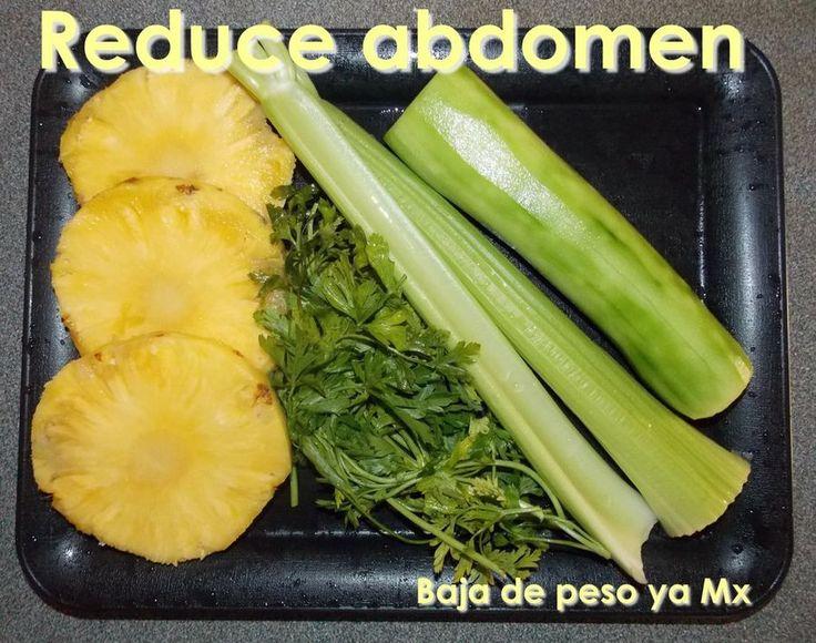 Jugo para reducir abdomen, rico y efectivo