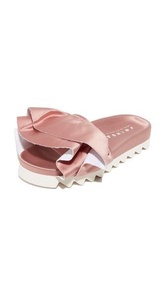 14 Pairs of Satin Slides to Upgrade Your Boring Outfit