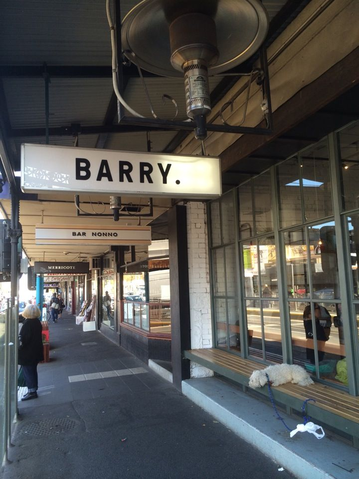 Barry in Northcote, VIC