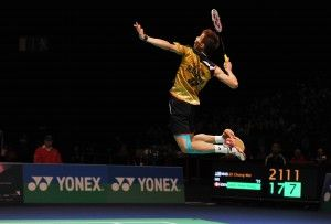 Lee Chong Wei, Malaysian shuttler. He's the number one Men Single's player in Badminton World Ranking.