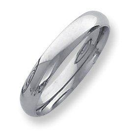 Palladium Medium Weight Comfort Fit 4.00mm Band Ring - Size 4 - JewelryWeb JewelryWeb. $303.00