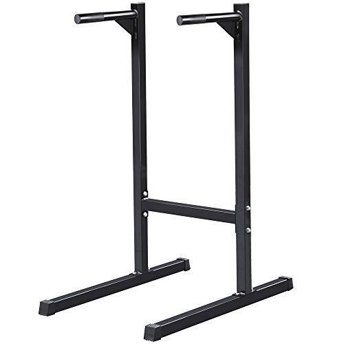 Topeakmart Dip Stand Parallel Bar Dip Station *** You can get additional details at the image link.
