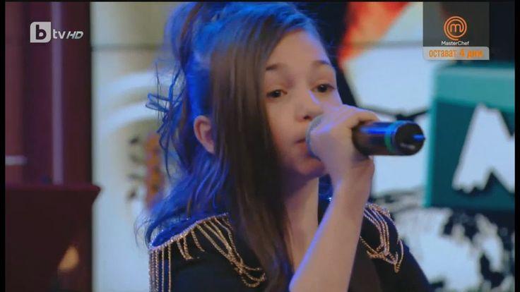 "Krisia Todorova:  Singing ""Who Loves You"" by Alannah Myles"