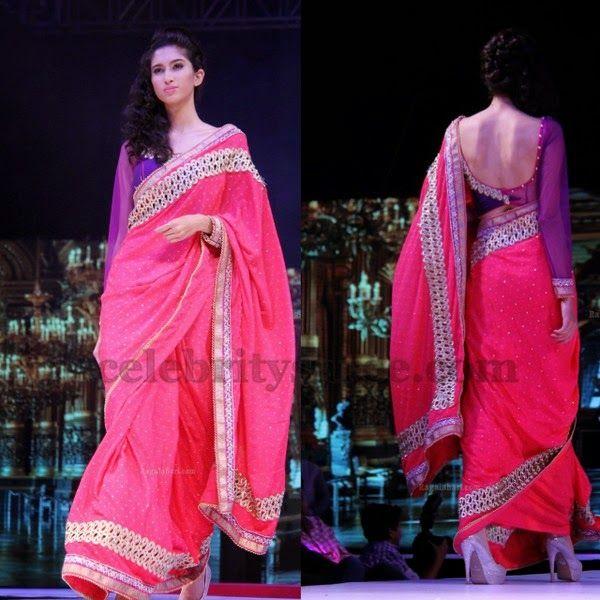 Cut Work Sari Full Hands Blouse | Saree Blouse Patterns