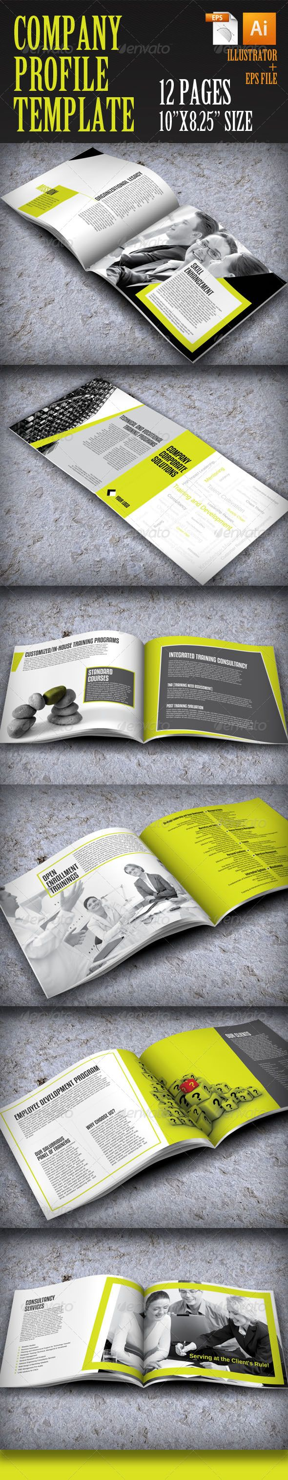 company profile brochure template - 31 best company profile templates images on pinterest