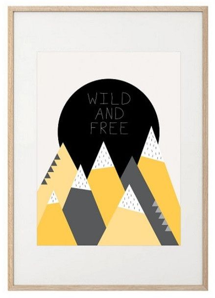 Wild and Free Print