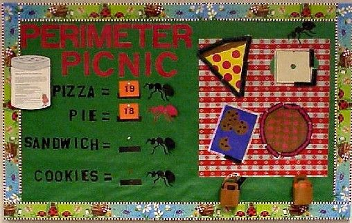 math bulletin board