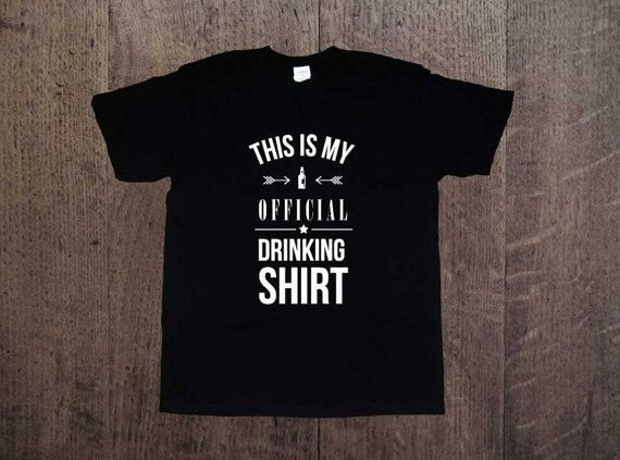 Party t-shirt!This is my official drinking shirt. Mens clothing! Cool shirt