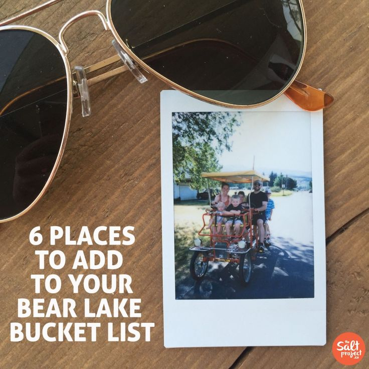 Bear Lake Bucket List | The Salt Project | Things to do in Utah with kids