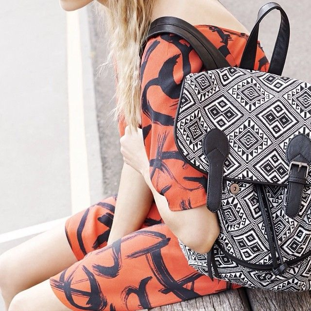 Waiting on the weekend. #humpday #backpack #80spop. Follow us on Instagram: http://instagram.com/sportsgirl