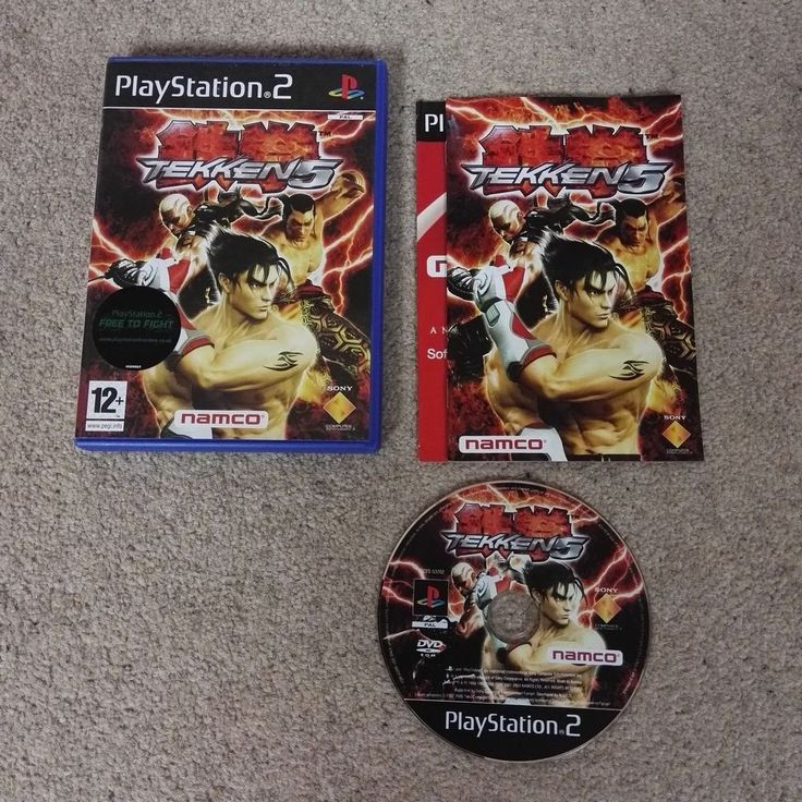 TEKKEN 5 - PlayStation 2 - PS2 - Good Condition - Tested and Working