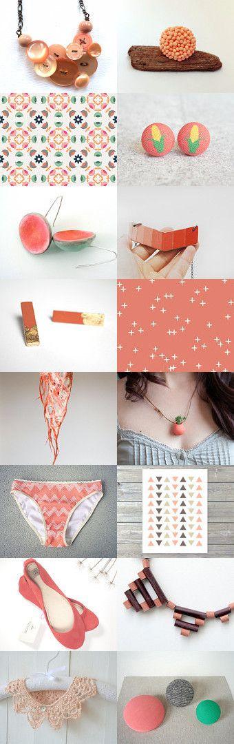 Peachy by Avery on Etsy--Pinned+with+TreasuryPin.com