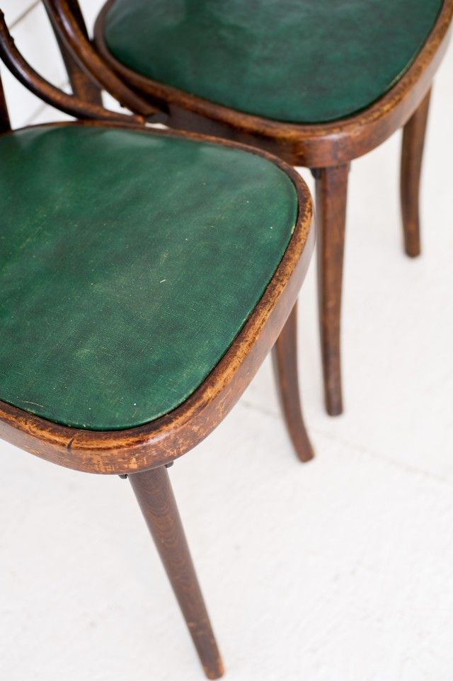 Wooden French bistro chairs with green seats x 2   French LoftBest 25  French bistro chairs ideas on Pinterest   Bistro chairs  . French Bistro Chairs Toronto. Home Design Ideas