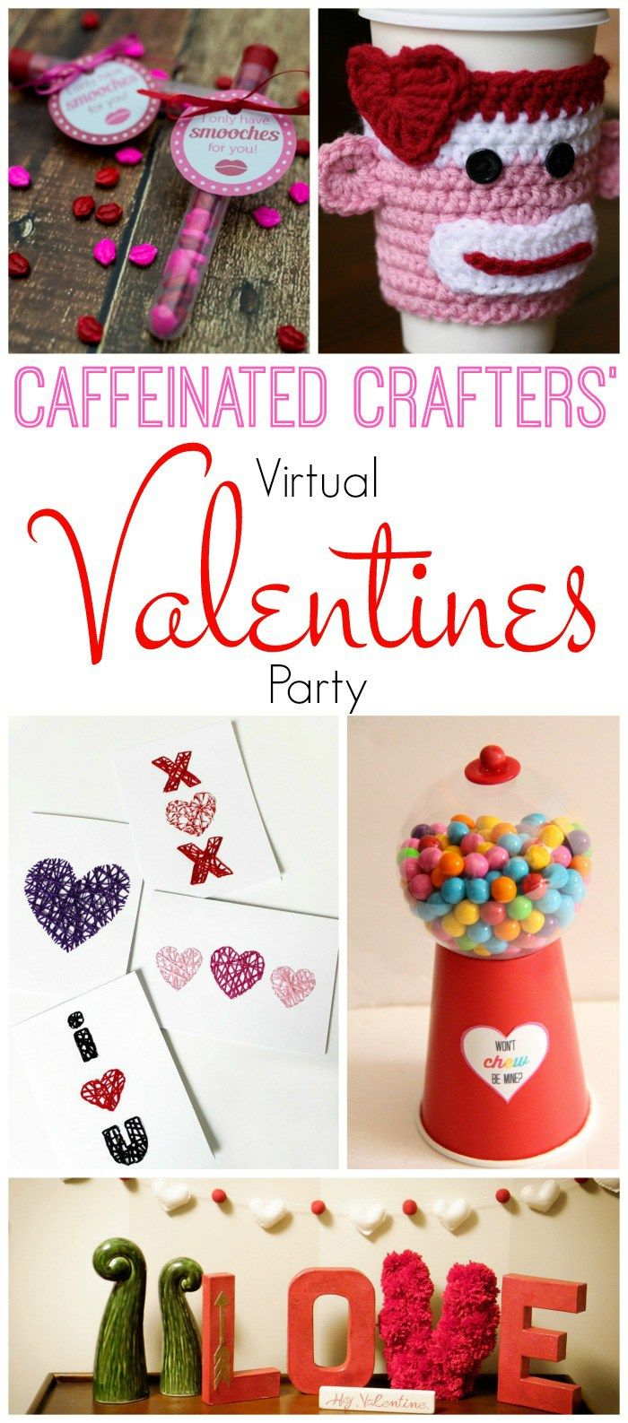 Hi friends, as I promised you last week, we're busy creating all kinds of Valentines FUN. Today I'm joining a few of my friends to bring you a Virtual Valentines Party. Link Party that is! What that means is that not only the five of us sharing great Valentines themed crafts, but that we're linking …
