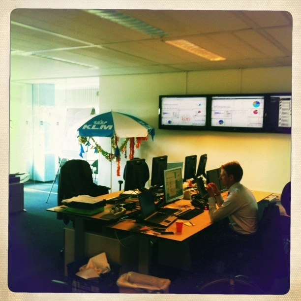 My last day in the social media hub of @klm by Nick Botter, via Flickr