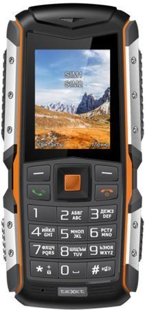 """Мобильный телефон Texet TM-513R оранжевый черный 2""""  — 4590 руб. —"""