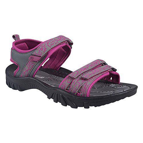 Mountain Warehouse Crete Sandales Femme Chaussures à Scratch Confort Néoprène Été Vacances Marche: Avec une douce et confortable doublure…