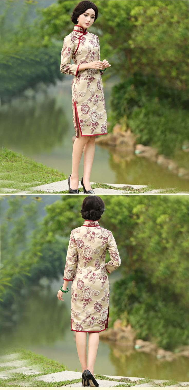 Ok wedding gallery the beauty dress of cheongsam 2013 -  2014