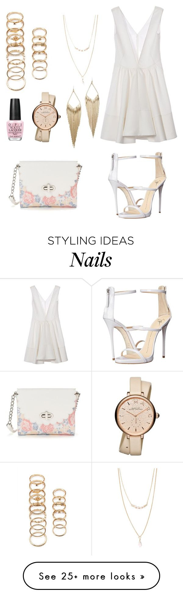 """""""Fly S*** Only"""" by anishagarner on Polyvore featuring Marni, Forever 21, Candie's, OPI, Marc by Marc Jacobs, Giuseppe Zanotti, Jules Smith, beach and summerdate"""