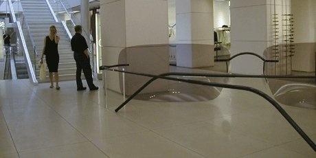 Sunglasses Armani Magastore Milan, 2001 | design Domenico Raimondi + arch. Luisella Italia | www.facebook.com/thesignlab