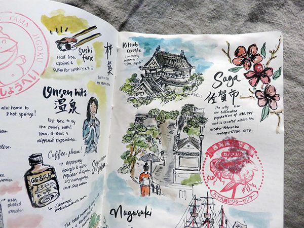 Travel Diaries: Kyushu, Japan on Behance