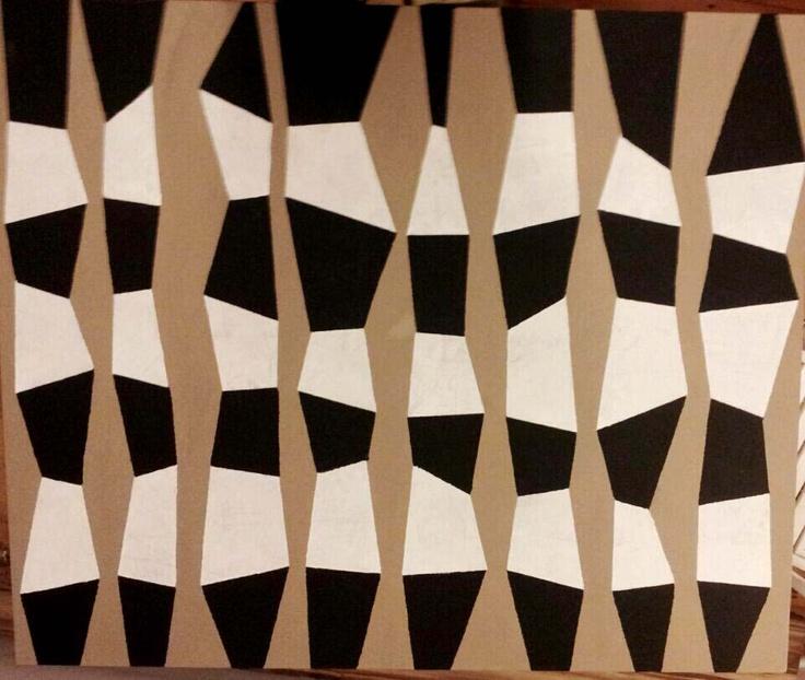 Totems. Acrylic on canvas. 1mx1,2m.