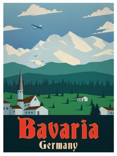 Image result for germany travel poster