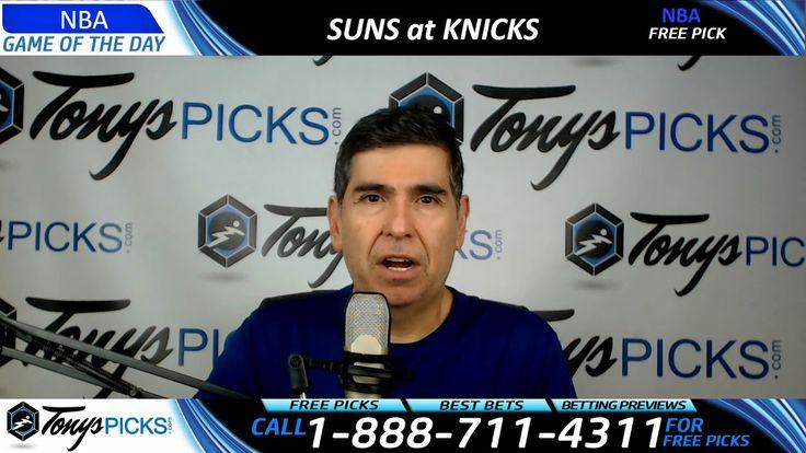 Phoenix Suns vs. New York Knicks – Free NBA Basketball Picks and Predict...