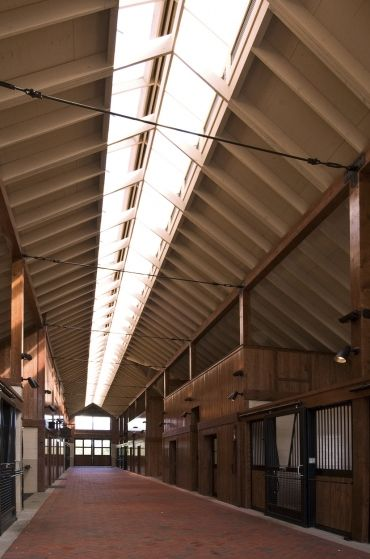 Barns should have sky lights