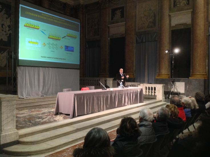 Roberto Cingolani, Scientific Director of IIT (Italian Istitute of Technology) talking about nano-technology