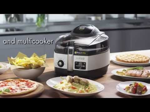 Introducing the De'Longhi Multifry Low-Oil Fryer and Multicooker - YouTube