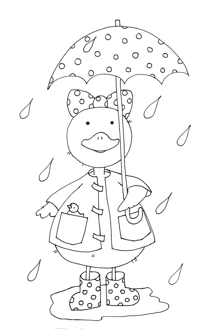 Rainy Day Duckie