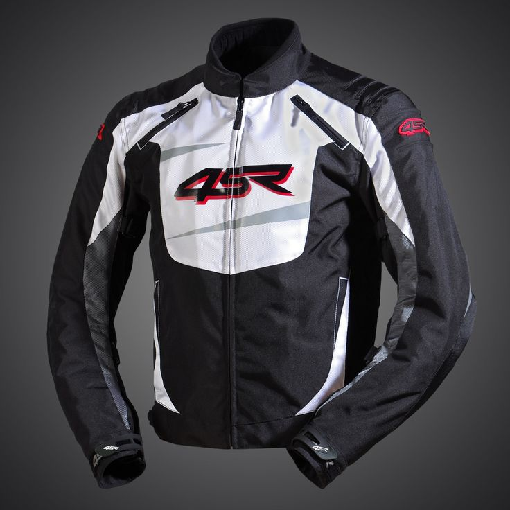 Stunts - Alpine White textile jacket
