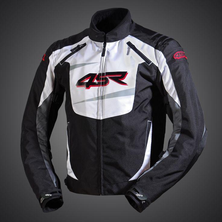 Stunts - Alpine White textile jacket