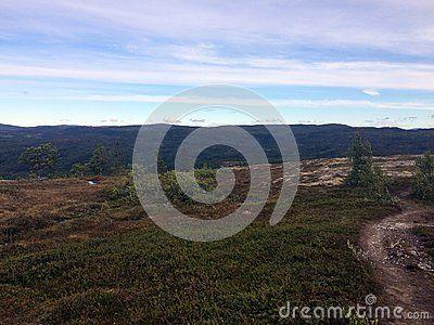 On Grønsjøen, a mountain in Norway