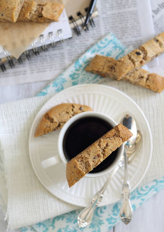 The perfect accompaniment to a cup of steaming comfort? Biscotti!