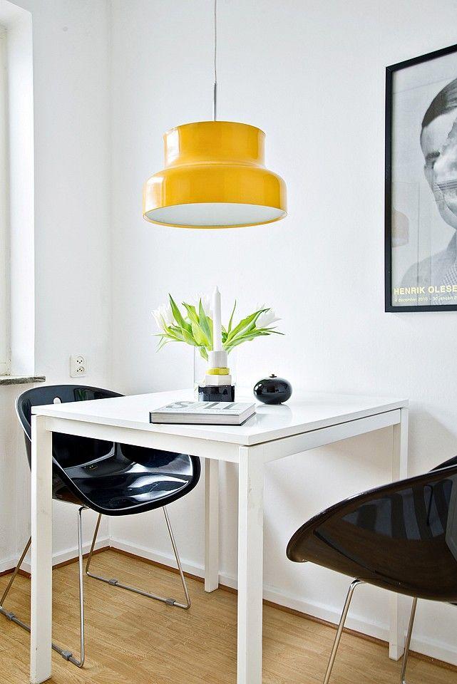Yellow lamp