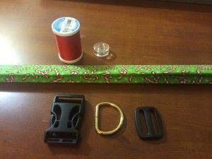 Easy tutorial on how to sew a dog collar