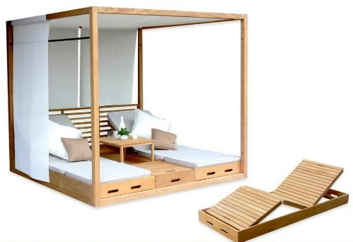 cabanas%20and%20luxury%20outdoor%20furniture Teak Summer Cabanas for Sunning and Dining