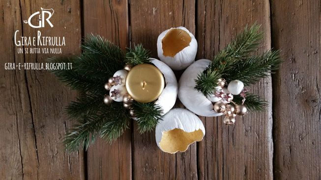 Gira e Rifrulla: centerpieces: Christmas is closer!