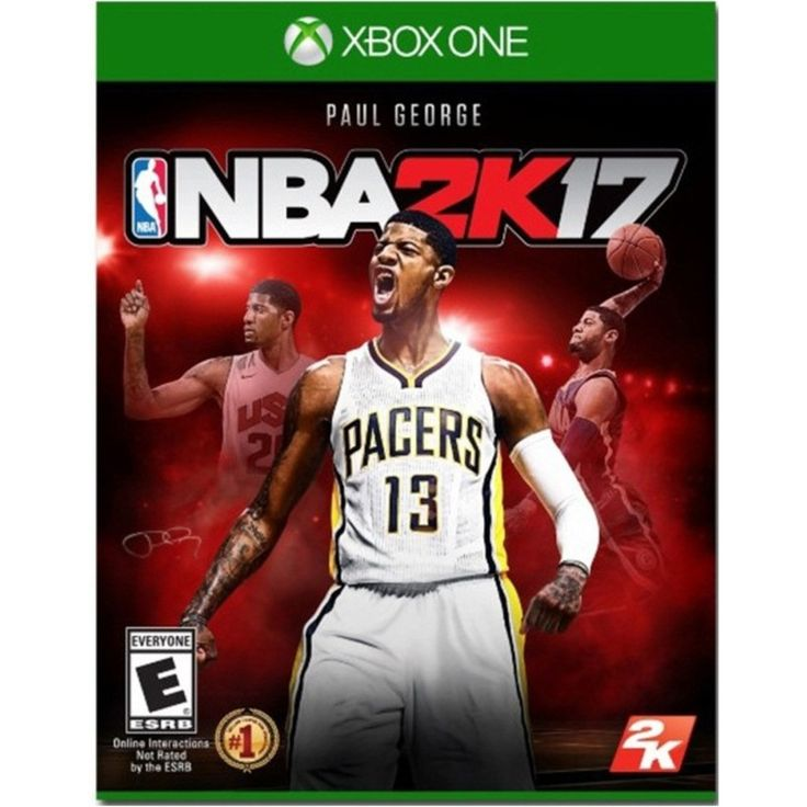 2K Games 710425497728 NBA 2K17 Video Game - Xbox One