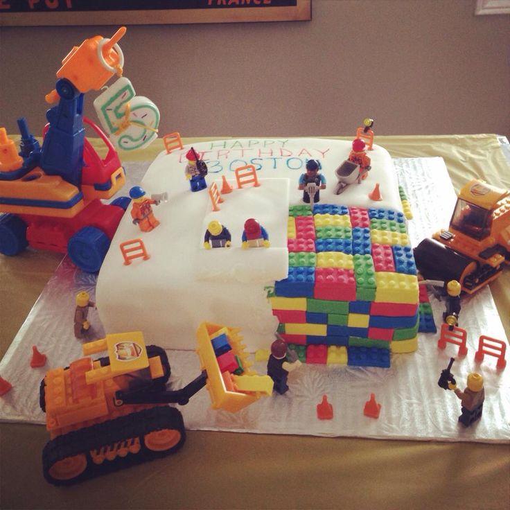 Lego party - cake